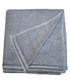 Dark grey pure cashmere throw 135x255cm Sale - panache handicraft Sale