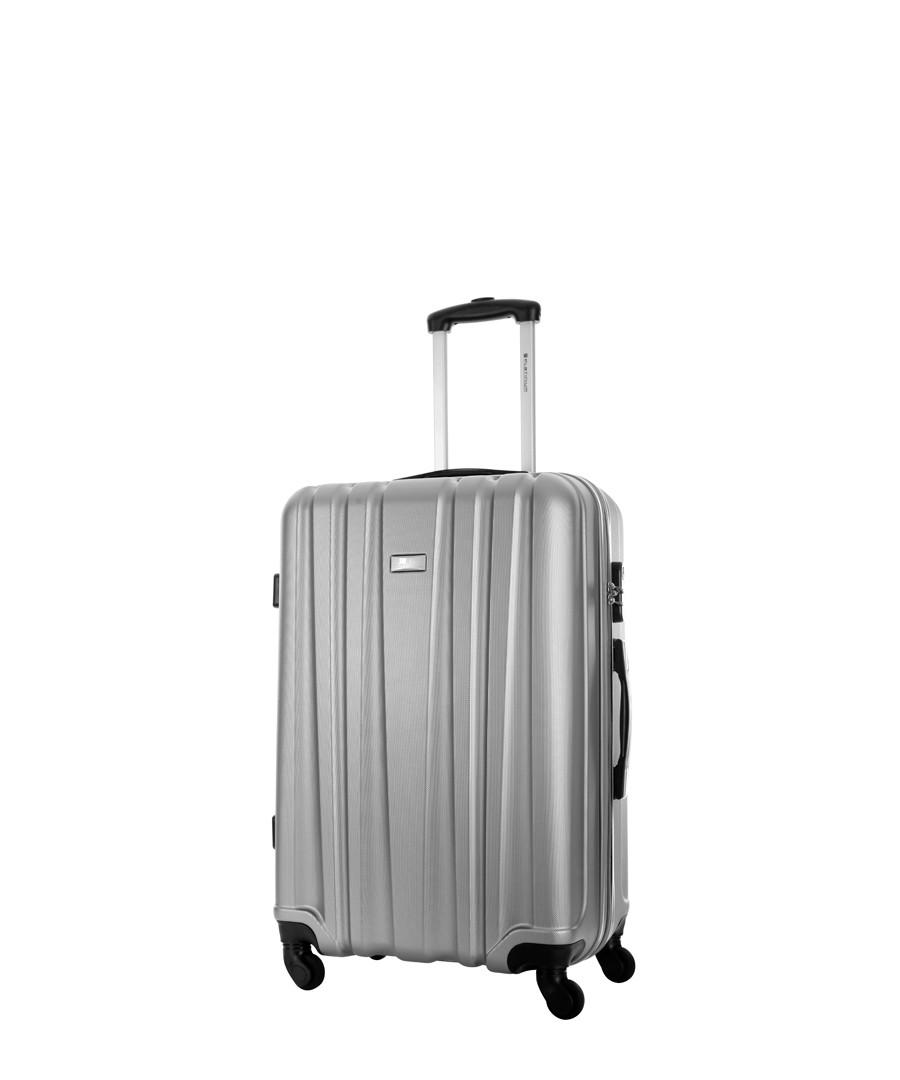 Akina silver spinner suitcase Sale - platinium