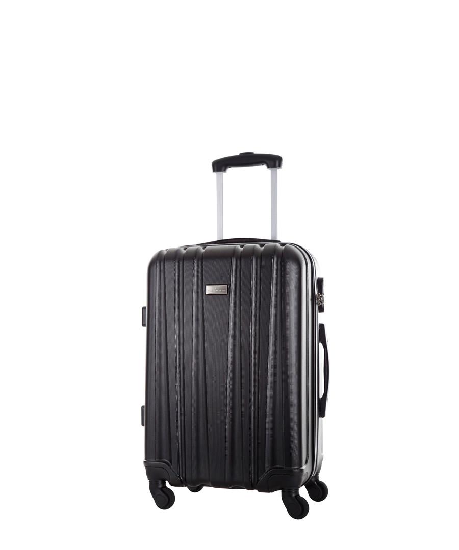 Akina black spinner suitcase Sale - platinium