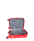 Allgood 3pc red spinner suitcase nest Sale - platinium Sale