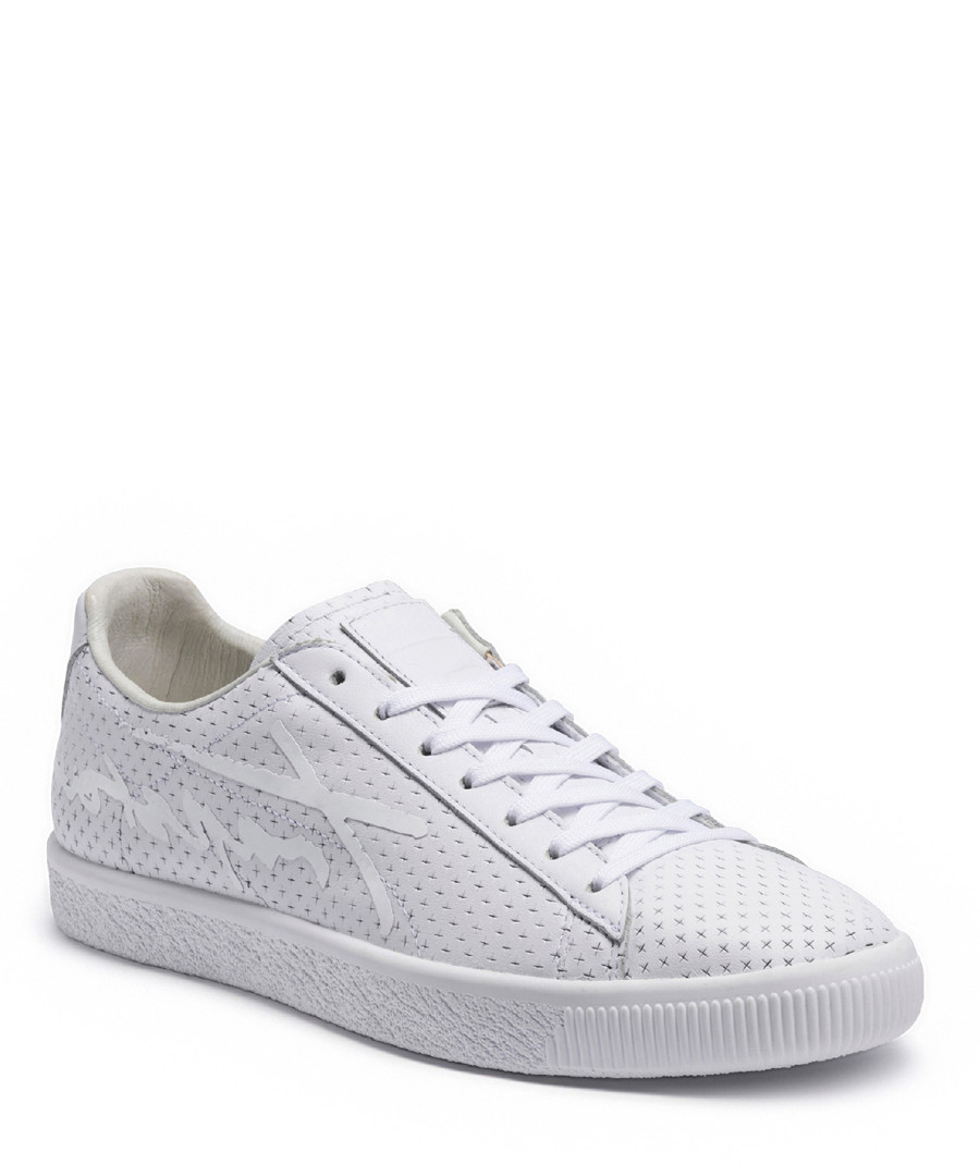 Djinns Mens Nice Mix Canvas Grey Wine Lace-up Trainers