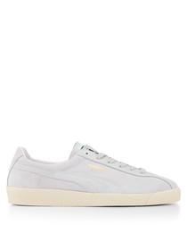 Te-Ku white & cream sneakers