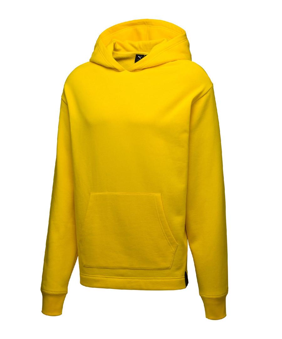 Puma X XO yellow oversize hoodie Sale - puma