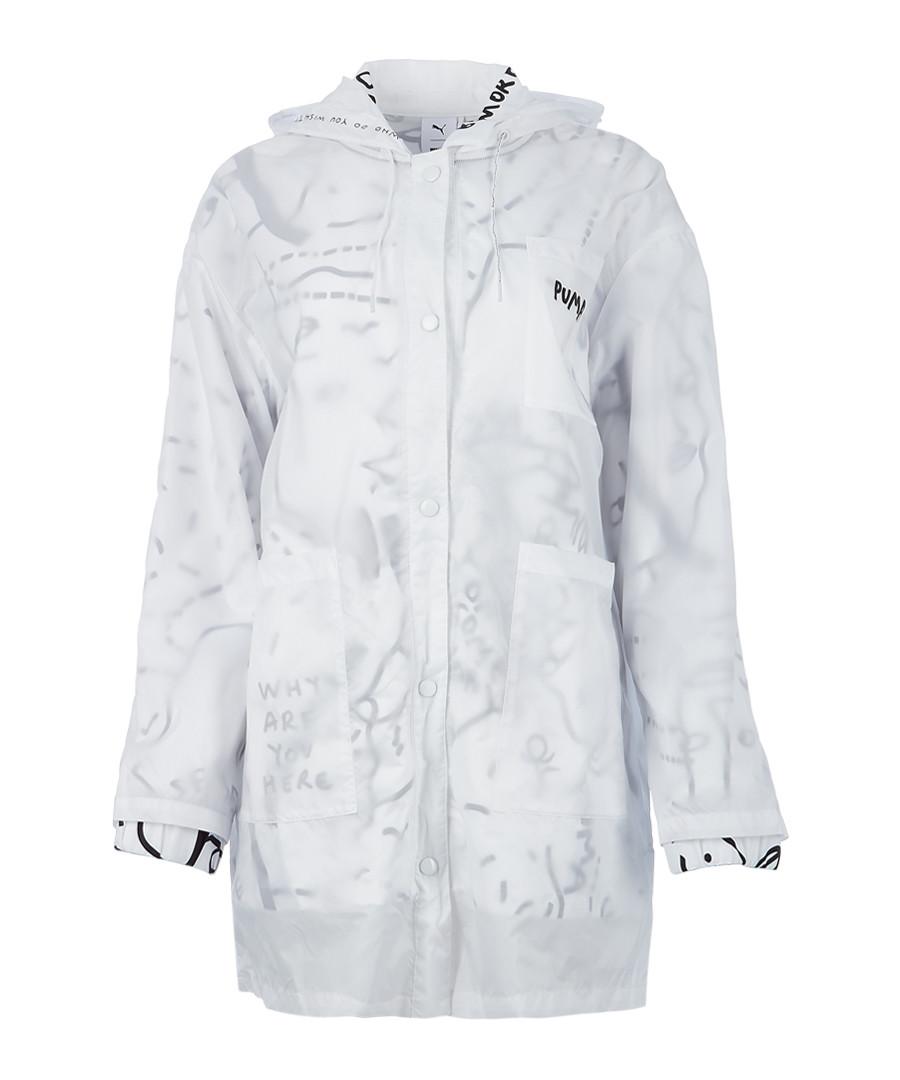 White printed jacket Sale - puma