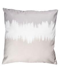 Sand, pearl & grey cushion cover 50cm