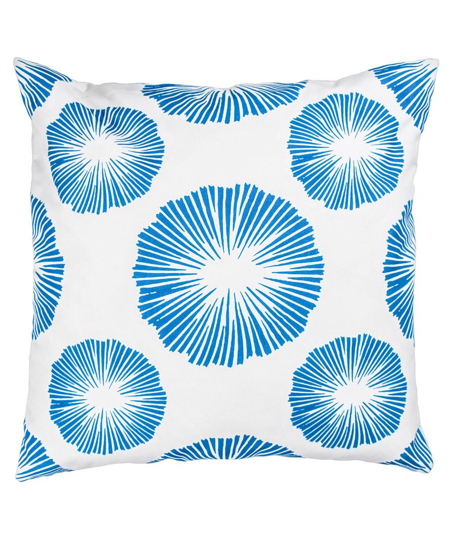 Blue & white cushion cover 50cm Sale - FEBRONIE