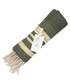 Hamptons khaki & gold cotton towel Sale - FEBRONIE Sale