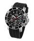 Black & silver-tone analogue watch Sale - tw steel Sale