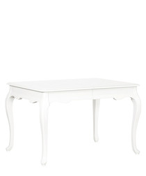 White birch 6 seater dining table