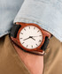 White, black & brown leather watch Sale - NEAT Sale