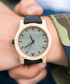 Green & black leather watch Sale - NEAT Sale
