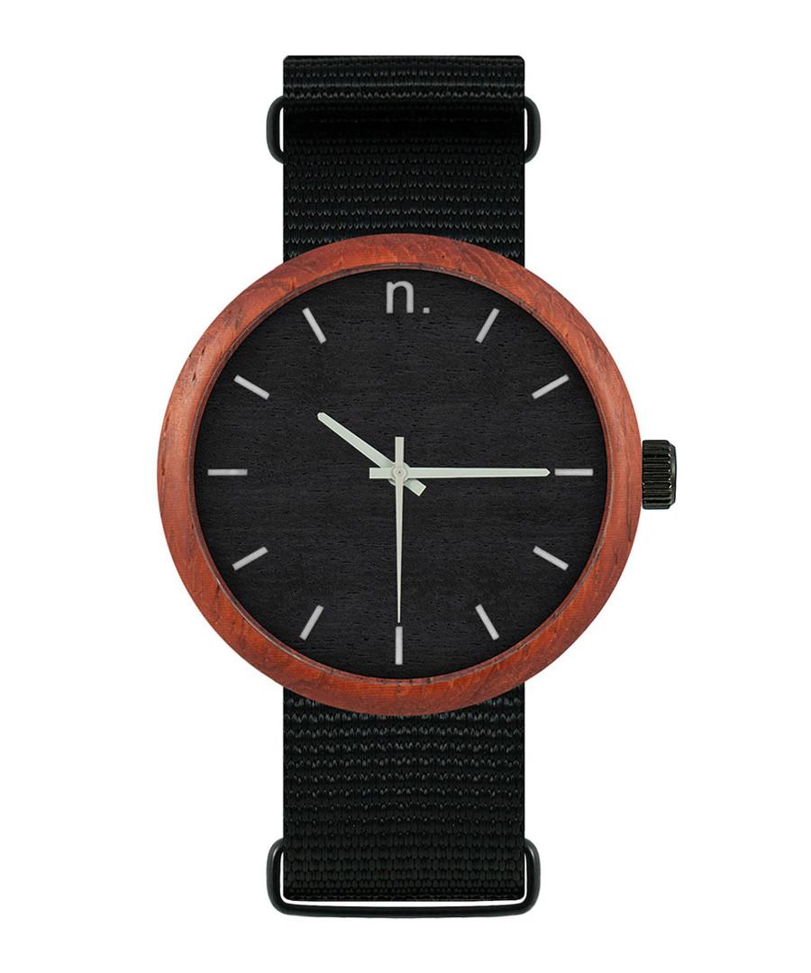 Black & silver-tone watch Sale - NEAT