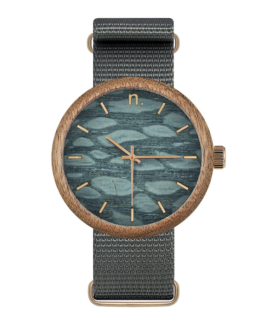 Grey pattern face watch Sale - NEAT