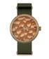 Orange & green pattern watch Sale - NEAT Sale