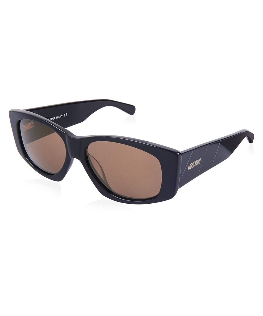 Black square sunglasses Sale - moschino