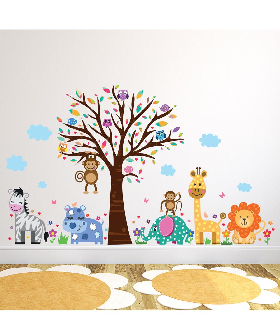 Happy London Zoo wall stickers Sale - Walplus