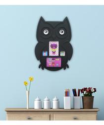Black owl photo frame collection