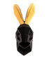 Rabbit black & gold wall mount Sale - Walplus Sale