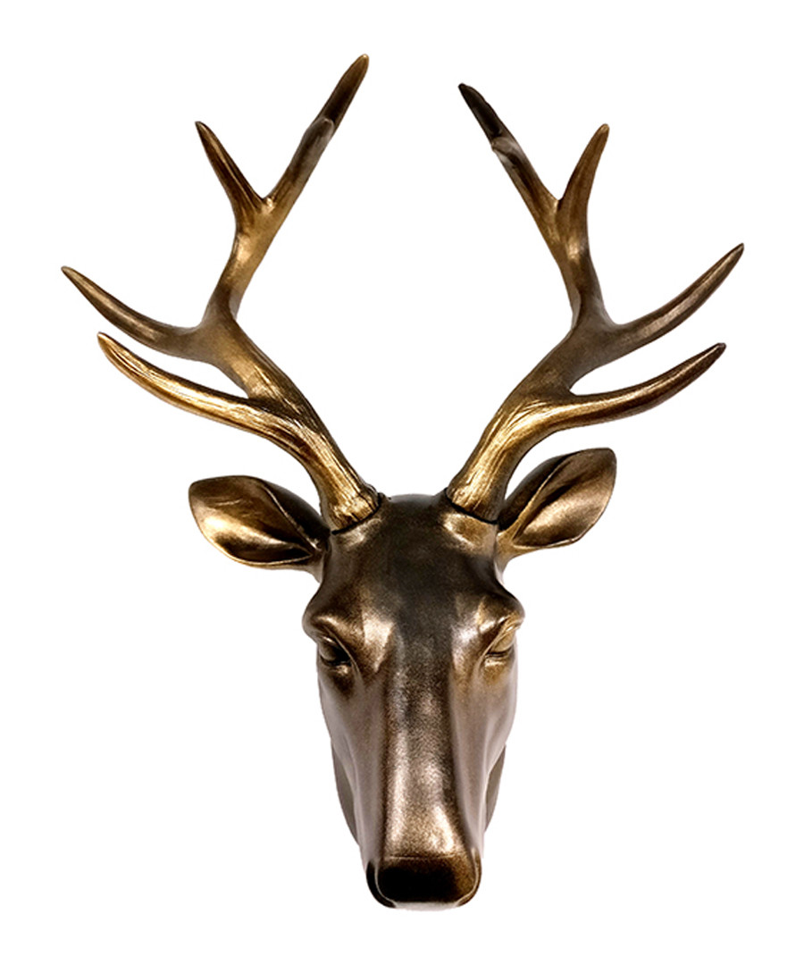 Deer brown wall mount Sale - Walpus