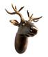 Deer brown wall mount Sale - Walpus Sale