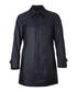 Garret navy silk blend coat Sale - HUGO BOSS Sale