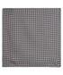 Black pure silk check pocket square Sale - Hugo Boss Sale