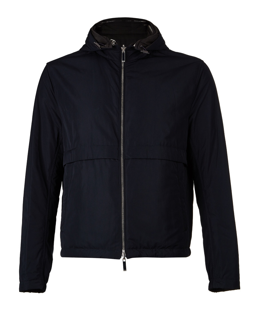 Calvero dark blue zip-up jacket Sale - hugo boss