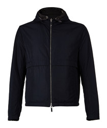 Calvero dark blue zip-up jacket