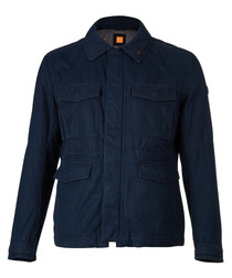 Ojett dark blue pure cotton jacket