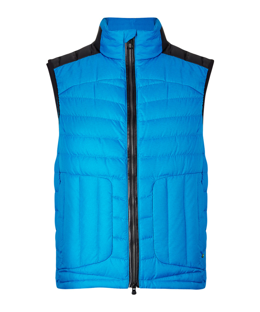 Vannick blue quilted gilet Sale - hugo boss