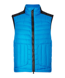 Vannick blue quilted gilet