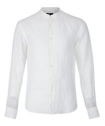 Rab white cotton blend shirt