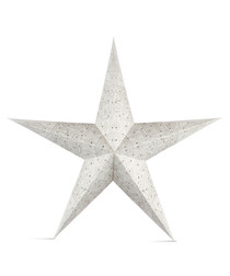 Mulberry white paper star shade