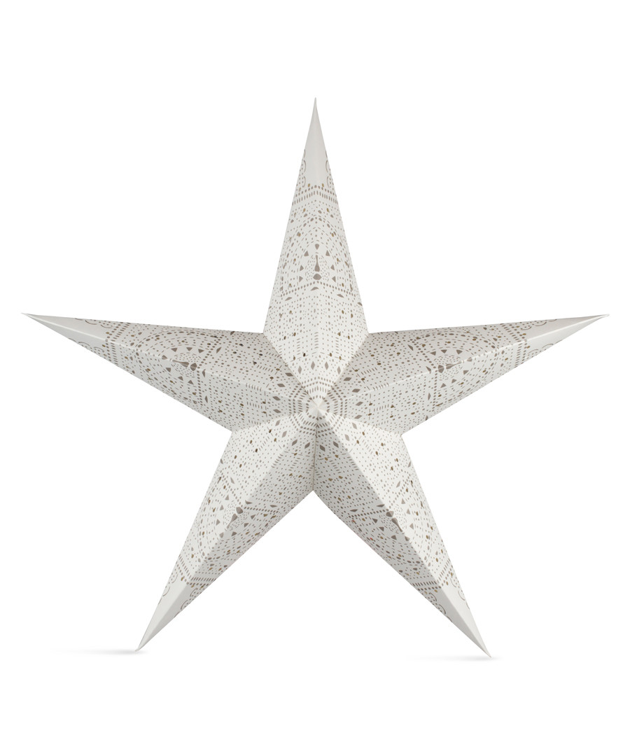 Mulberry white paper star shade Sale - Tivoli Lights
