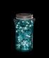 Silver-tone & blue LED jar light Sale - Tivoli Lights Sale