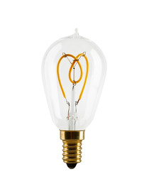 Vintage LED light bulb E14 2.7W