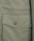Olive cotton blend hooded coat Sale - DreiMaster Sale