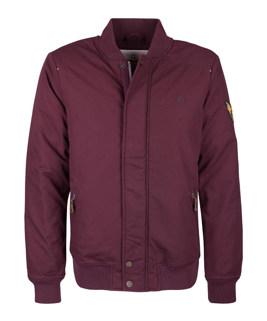 Bordeaux pure cotton jacket Sale - DreiMaster