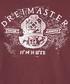 Bordeaux pure cotton logo T-shirt Sale - DreiMaster Sale