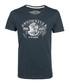 Bottle green pure cotton logo T-shirt Sale - DreiMaster Sale