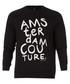Black cotton blend print sweatshirt Sale - Scotch and Soda Sale