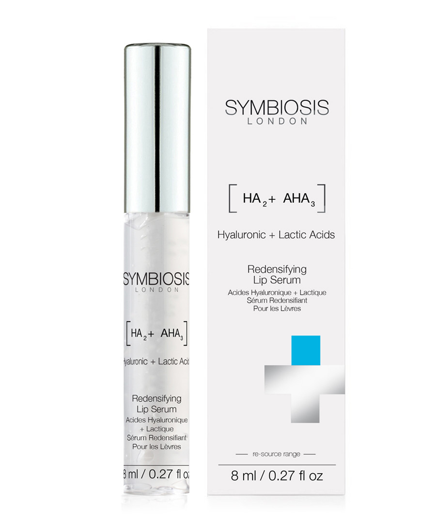 Hyaluronic & Lactic Acids lip serum 8ml Sale - symbiosis skincare