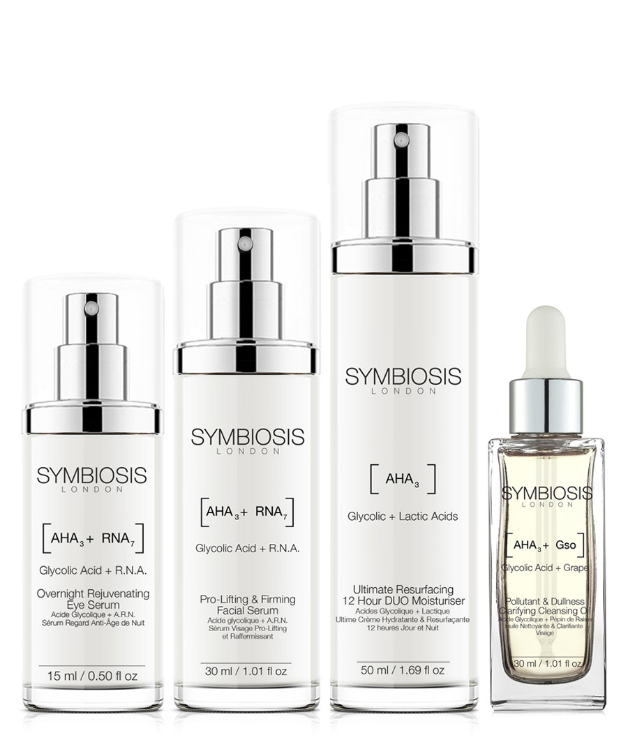 4pc Glycolic Acid Pro skincare set Sale - symbiosis skincare