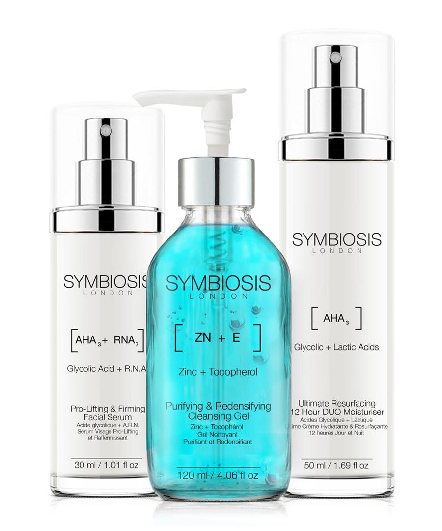 3pc Thee-Step System skincare set Sale - symbiosis skincare