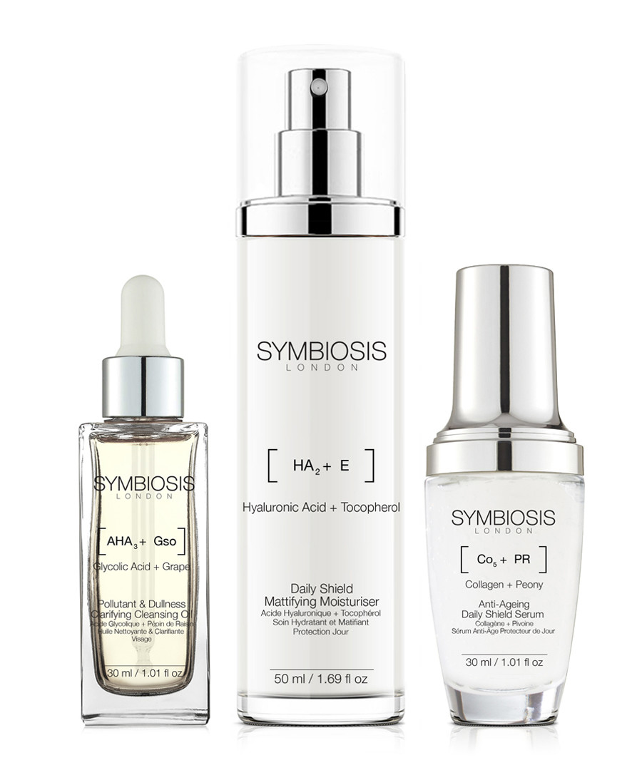 3pc Daily Shield Starter skincare set Sale - symbiosis skincare