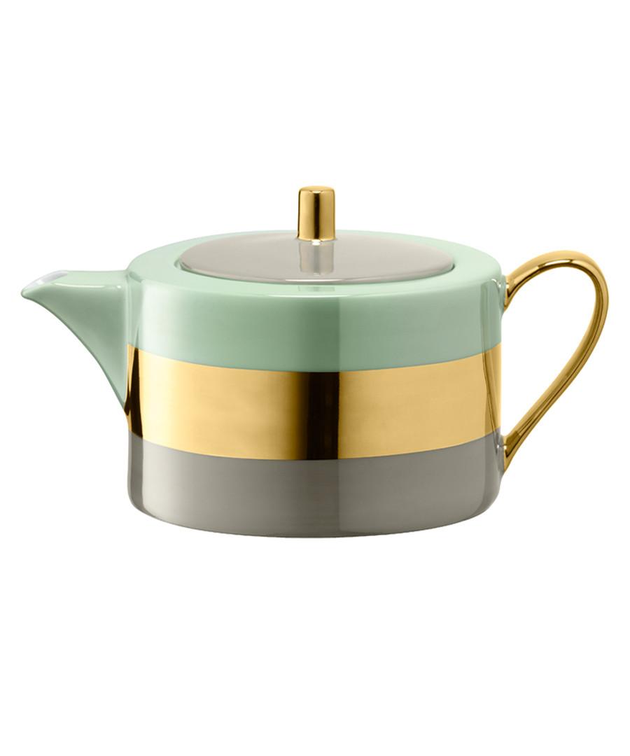 Blue & metallic teapot 1.2L Sale - lsa