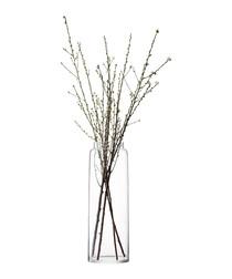 Chimney Vase H70cm Clear