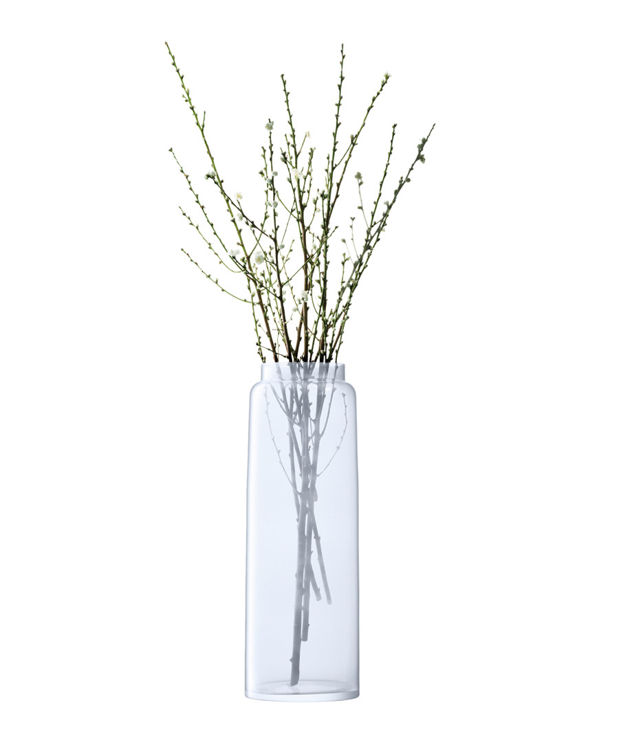 Opaline glass tall vase 70cm Sale - lsa