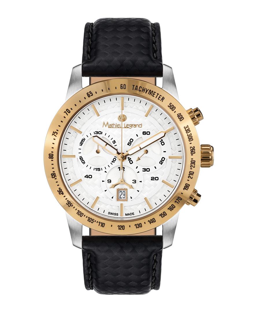 Grande Vitesse black & gold watch Sale - mathieu legrand