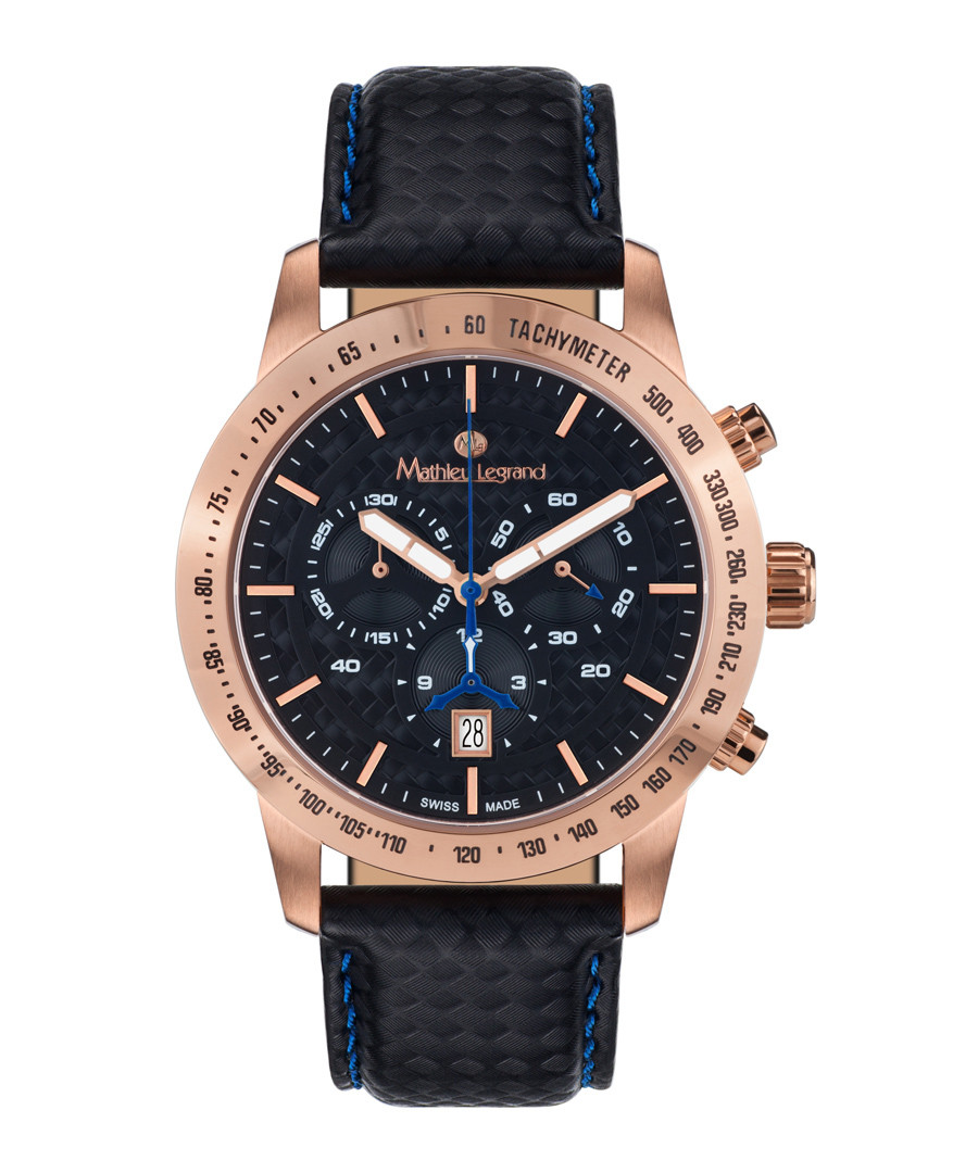Grande Vitesse black & rose gold watch Sale - mathieu legrand